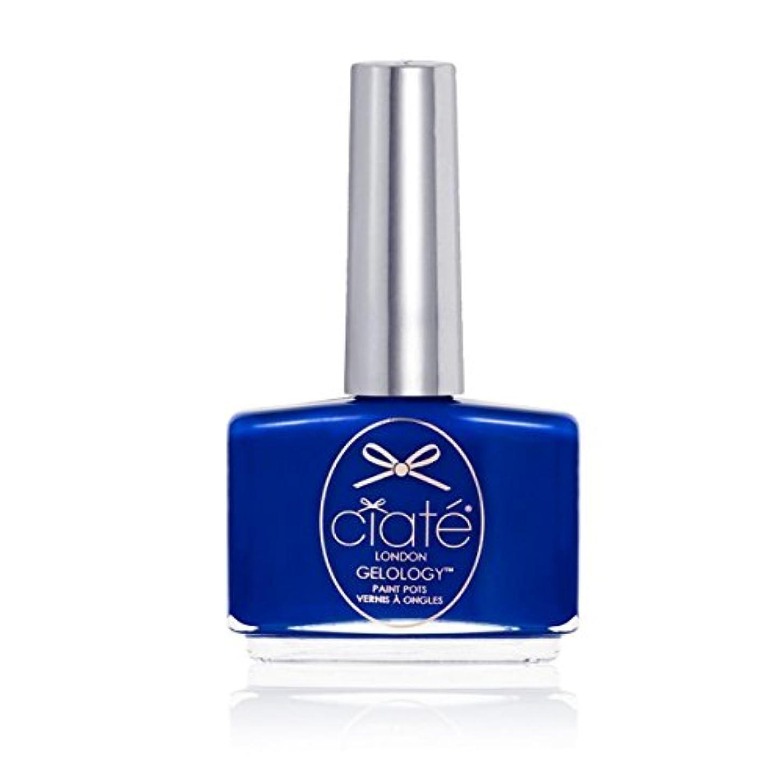 大脳スクリュー馬鹿[ciate] [シアテロンドン ] ジェルロジープールパーティー(カラー:マリンブルー)-GELOLOGY-POOL PARTY シアテロンドン ジェルポリッシュ 色:マリンブルー ネイルカラー系統:ブルー(青)