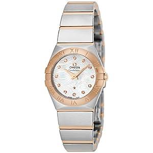 [オメガ]OMEGA 腕時計 コンステレーション ホワイトパール文字盤 ダイヤモンド 123.20.24.60.55.007 レディース 【並行輸入品】