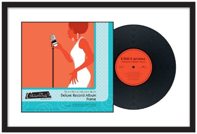 ほのめかす外国人コンベンションMCS Deluxe Record Album Frame, 25 by 16.5-Inch, Black Finish by MCS