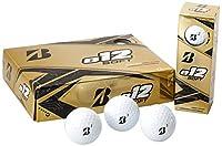 ブリヂストンゴルフ e12 SOFT サーリンカバー 3ピース ゴルフボール USA直輸入品 ホワイト