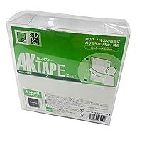 AKテープ粘着付50組黒 AK-04 50X50MM アラコー