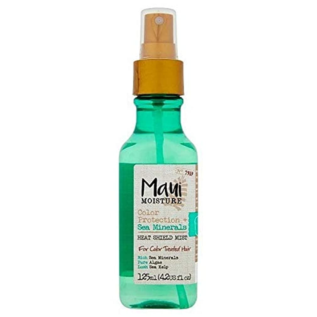 [Maui Moisture ] マウイ水分海のミネラルオイルミスト125ミリリットル - Maui Moisture Sea Minerals Oil Mist 125ml [並行輸入品]