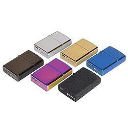 EasyJoy 電子ライター USB 充電式 高級ライター