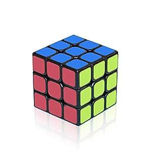 EnacFire ルービックキューブ ステッカー スピードキューブ 回転スムーズ 立体パズル ポップ防止 世界基準配色 ver.2.0 競技専用