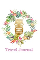 Travel Journal: Get Creative! 6''X9'' Matte Cover Finish 110 Page Dot Grid Journal
