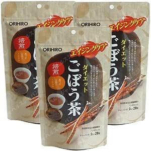 オリヒロ ダイエットごぼう茶20包【3袋セット】