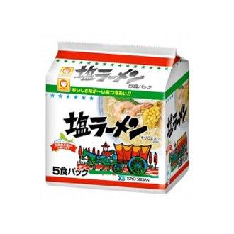 マルちゃん 塩ラーメン 5食パック 袋94g×5