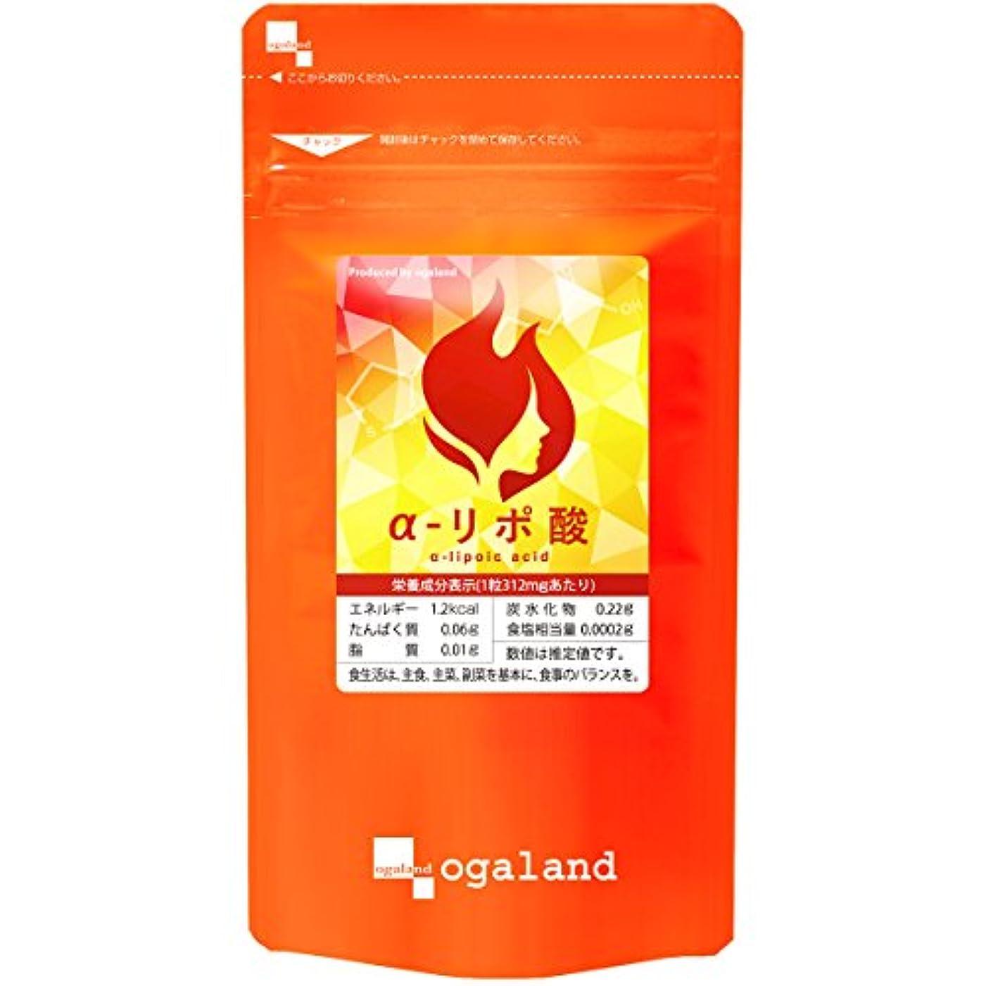 汚染合併症受け入れるお徳用α-リポ酸 (180カプセル/約3ヶ月分)