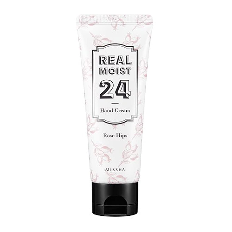 振り子ぬいぐるみ繁栄[New] MISSHA Real Moist 24 Hand Cream 70ml/ミシャ リアル モイスト 24 ハンドクリーム 70ml (#Rose Hips Oil)