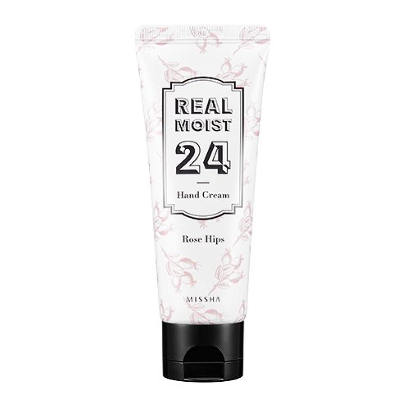 ジム債務者ストッキング[New] MISSHA Real Moist 24 Hand Cream 70ml/ミシャ リアル モイスト 24 ハンドクリーム 70ml (#Rose Hips Oil)