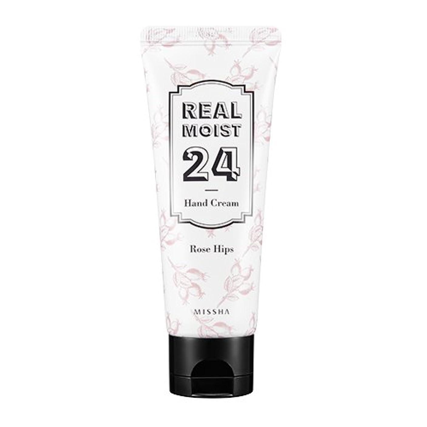 影のある正確さトリッキー[New] MISSHA Real Moist 24 Hand Cream 70ml/ミシャ リアル モイスト 24 ハンドクリーム 70ml (#Rose Hips Oil)