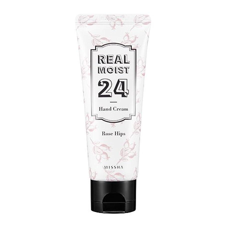 作成者旋回書誌[New] MISSHA Real Moist 24 Hand Cream 70ml/ミシャ リアル モイスト 24 ハンドクリーム 70ml (#Rose Hips Oil)