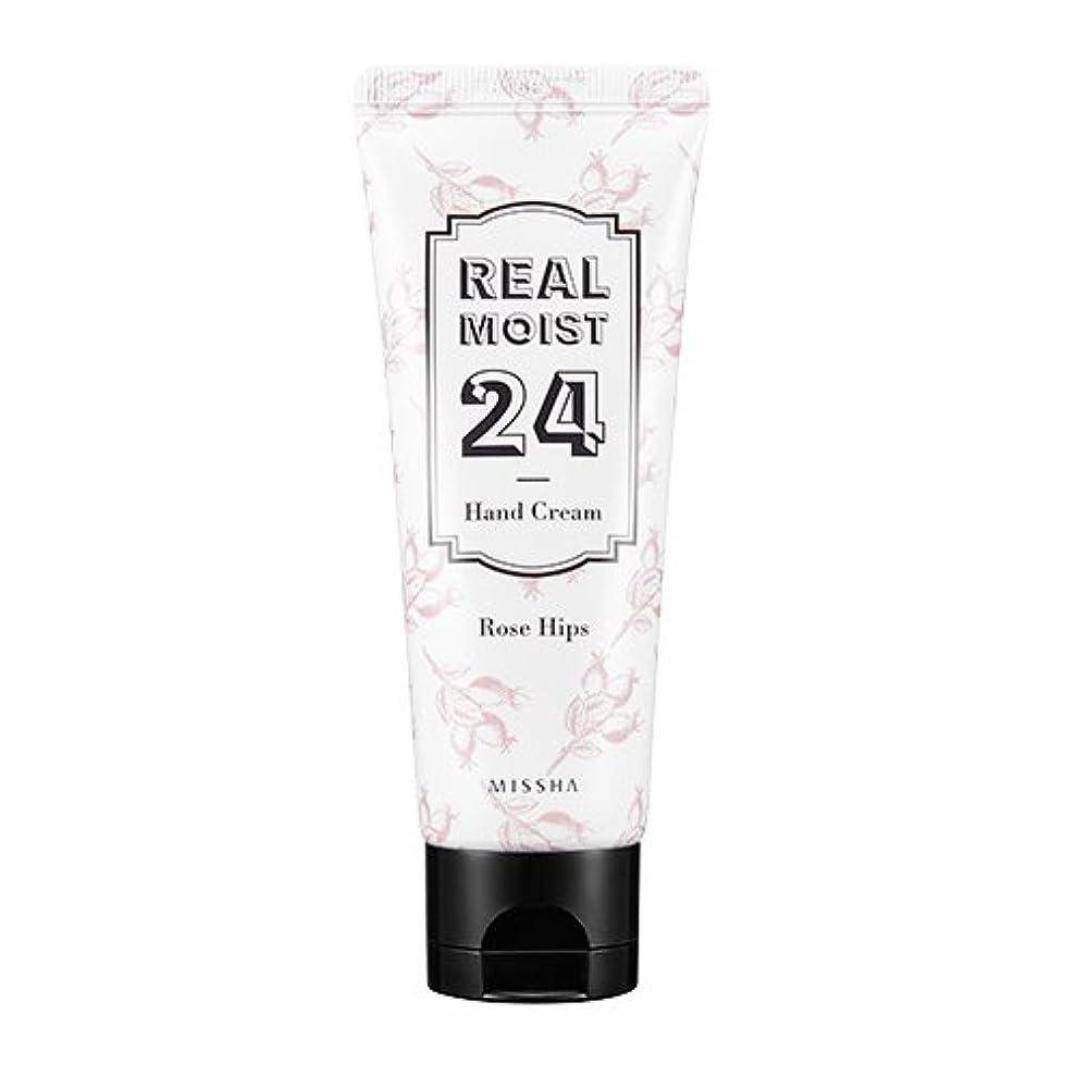 女王教影響する[New] MISSHA Real Moist 24 Hand Cream 70ml/ミシャ リアル モイスト 24 ハンドクリーム 70ml (#Rose Hips Oil)