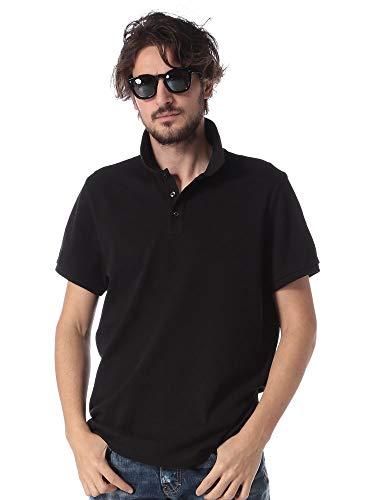 (モンクレール) MONCLER 綿100% 襟裏ロゴ 半袖 ポロシャツ [MC830515084556] [並行輸入品]