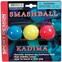 Sport Design Replacement Beach Balls for Beachball Smashball Kadima Watercolors (Set of three balls in Assorted colors ) by Sport Design