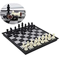 T Tocas International Chess Board Ambassador Set, Large, 12.6