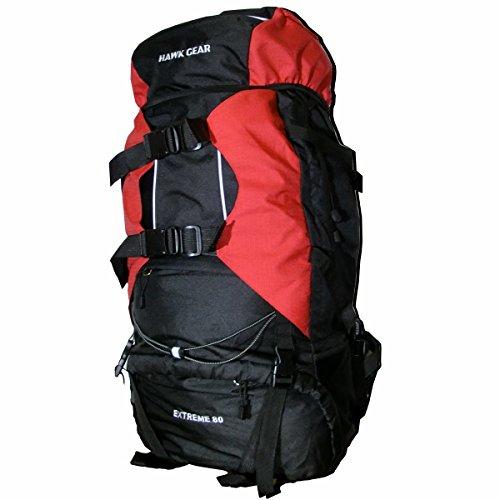 【旅行・登山・非難】レインカバー付 大容量バックパック