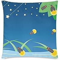 可愛い 子供 星と蛍の光 座布団 45cm×45cm可愛い 子供 星と蛍の光 座布団 45cm×45cm可愛い 子供 星と蛍の光 座布団 45cm×45cm