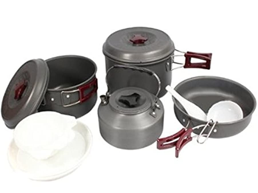 クラシカル着替えるやさしくBULIN キャンプクッカーセット 調理器具セット BL200-C8