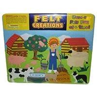 フェルトCreations–、ファームFarmer and Farm動物Payセット