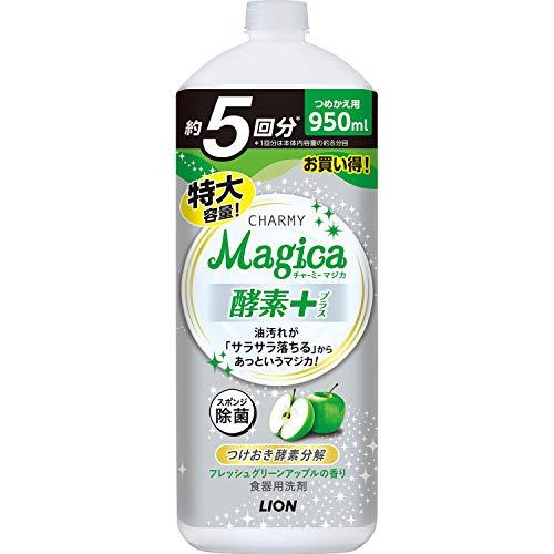 チヤーミー Magica 酵素+ フレッシュグリーンアップルの香り つめかえ用大型サイズ 950ml