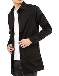 (アーケード) ARCADE メンズ 春 ロング スプリングコート コート ストレッチ ステンカラー チェスターコート