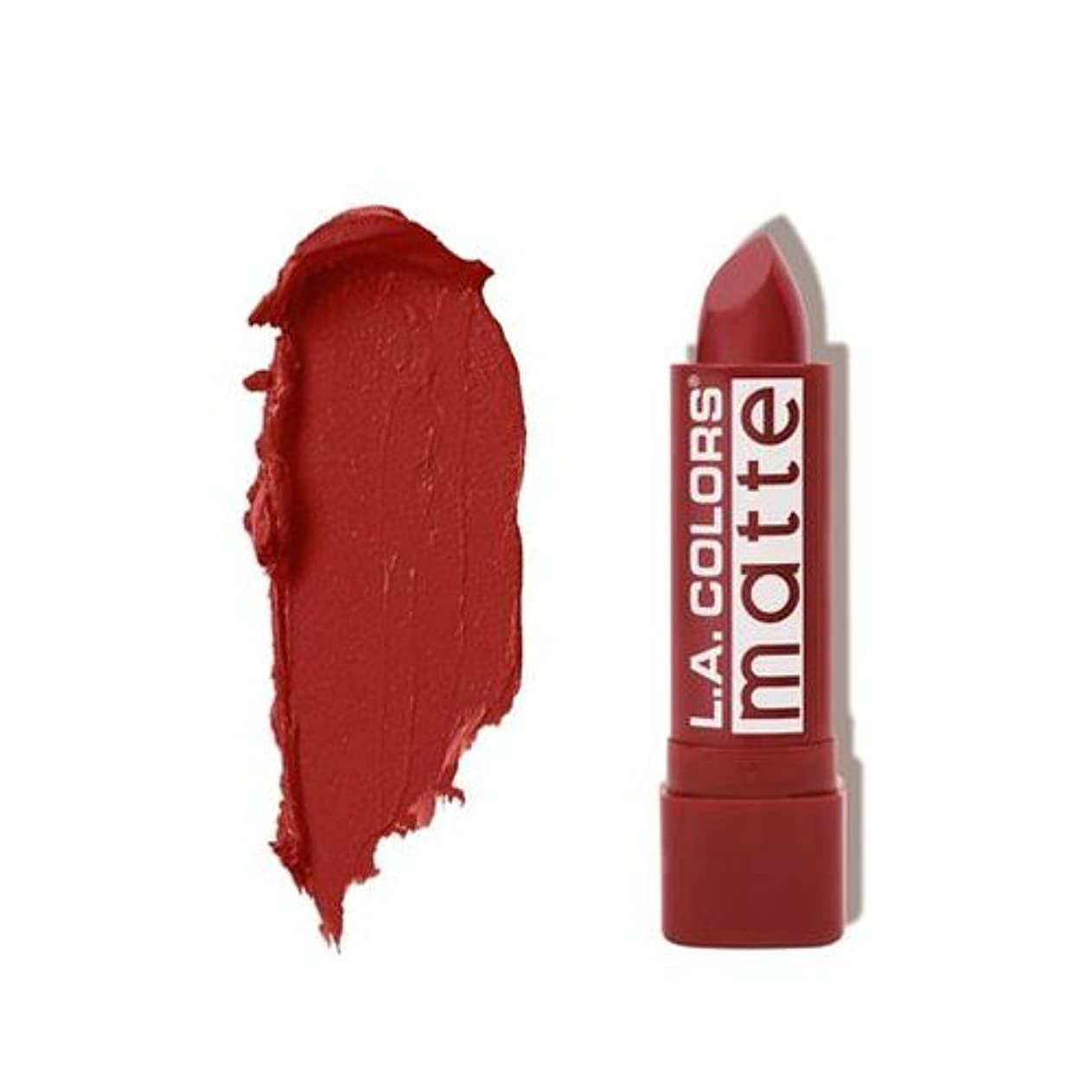 全滅させる推測王子(3 Pack) L.A. COLORS Matte Lip Color - Brick (並行輸入品)