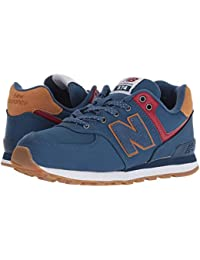 [new balance(ニューバランス)] キッズランニングシューズ??スニーカー?靴 PC574v1 (Little Kid) Moroccan Tile/Brown Sugar 2.5 Little Kid (21.5cm) M