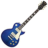 BLITZbyARIA ブリッツ エレキギター BLP-450 SBL ケース付属