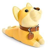 domestarキュート犬ドアストッパー イエロー