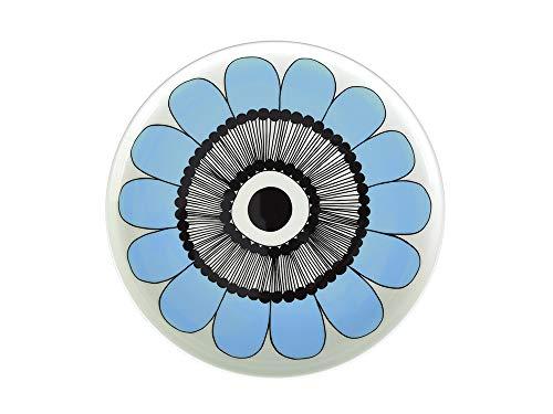 マリメッコ KESTIT(ケスティト) 直径20cm 丸皿(プレート)【67926】34 ブルー(青色) marimekko