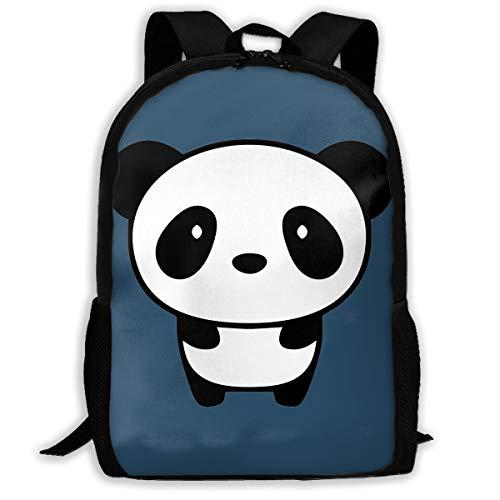 パンダ 体 バックパック 通学 リュックサック ナップザック 多機能バッグ デイパック ショルダーバッグ