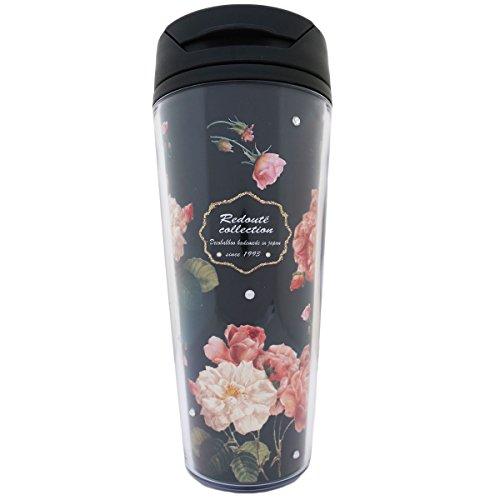 【Decoration★TUMBLER】デコ タンブラー 500ml 花 薔薇 W-TA012 (ブ...