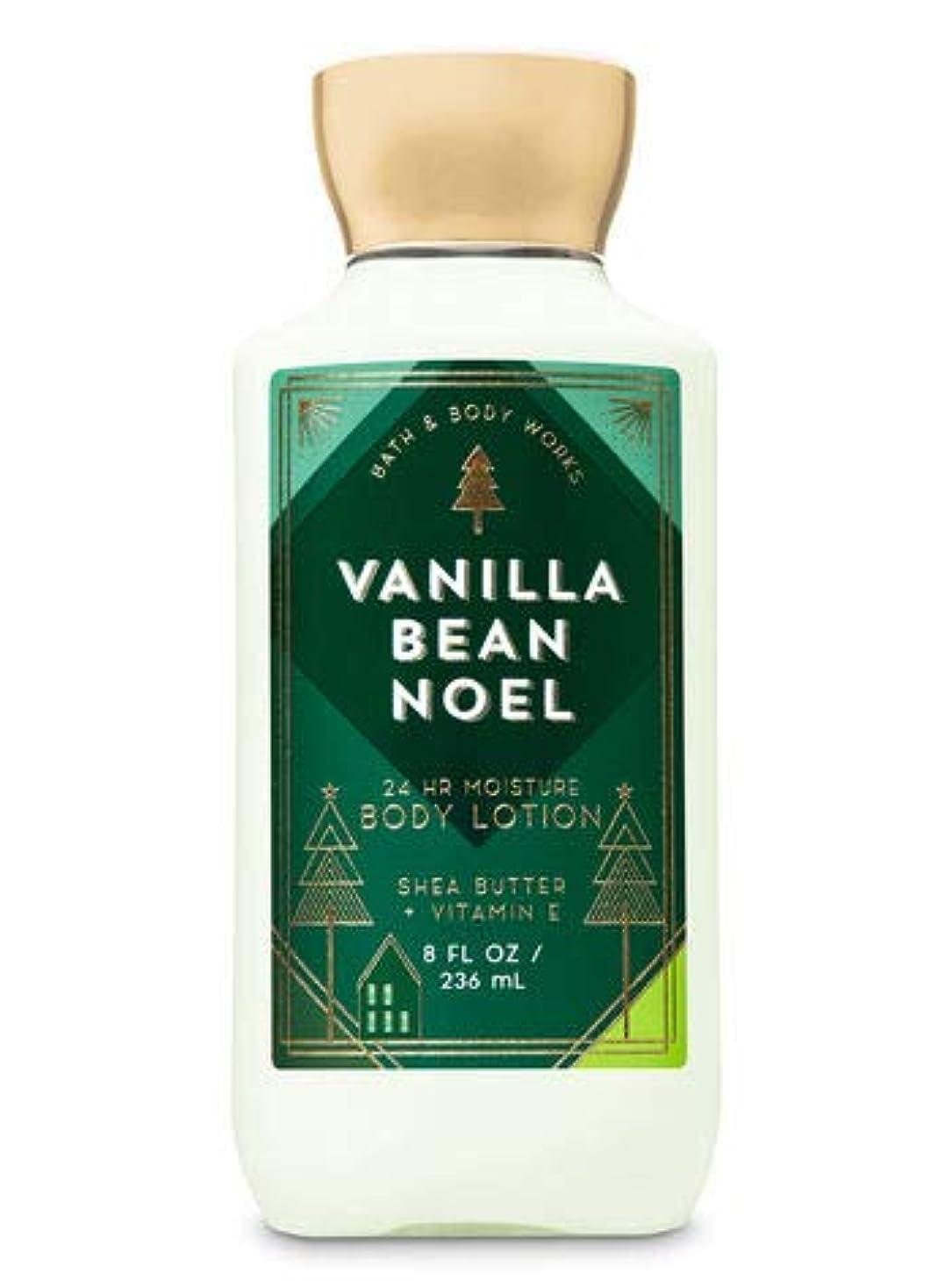 継承送った脱獄バス&ボディワークス バニラビーンノエル ボディローション Vanilla Bean Noel body lotion [並行輸入品]