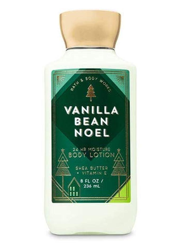 分利益スリーブ【Bath&Body Works/バス&ボディワークス】 ボディローション バニラビーンノエル Body Lotion Vanilla Bean Noel 8 fl oz / 236 mL [並行輸入品]