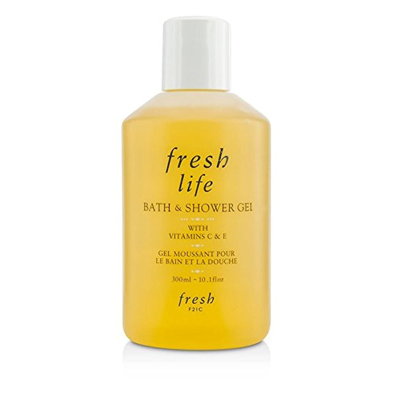 忠実満了彫刻家フレッシュ Fresh Life Bath & Shower Gel 300ml/10.1oz並行輸入品