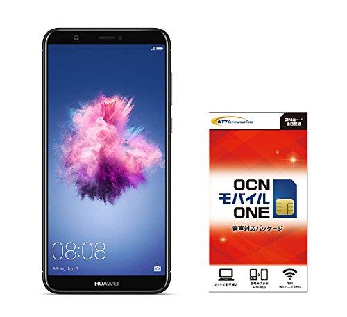 Huawei 5.65インチ nova lite 2 SIMフリースマートフォン ブラック※クリアケース、イヤホンマイク付属※日本正規代理店品 NOVA LITE 2/BLACK  OCNモバイル エントリーパッケージセット