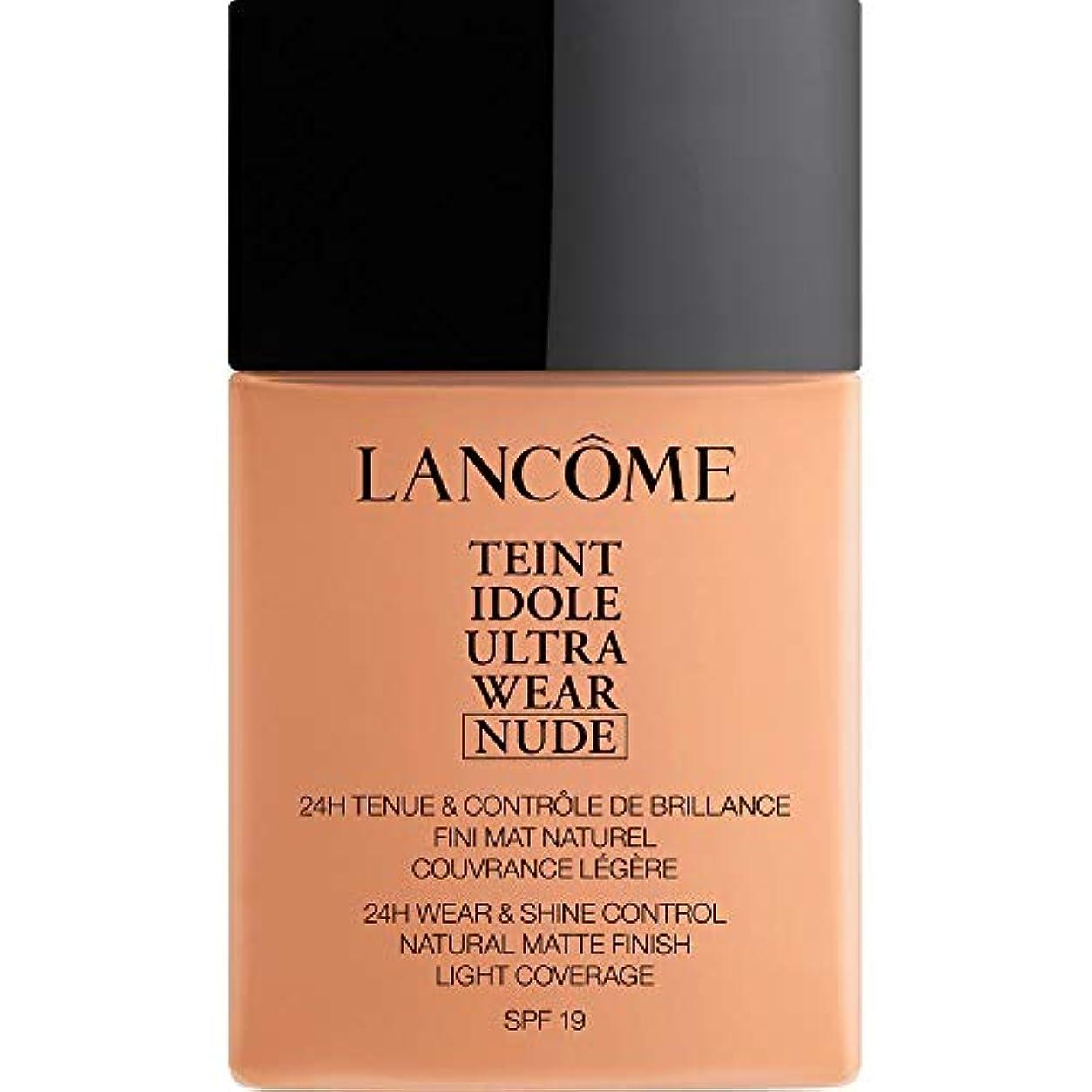 キャンプ代わってネコ[Lanc?me ] ランコムTeintのIdole超摩耗ヌード財団Spf19の40ミリリットル048 - ベージュChataigne - Lancome Teint Idole Ultra Wear Nude Foundation...