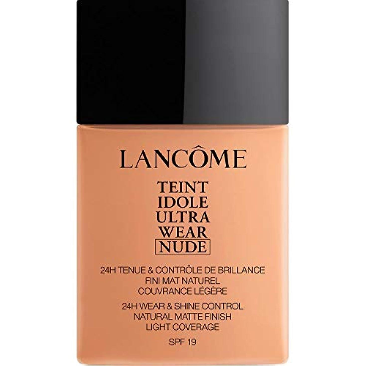 不安定なソーセージ件名[Lanc?me ] ランコムTeintのIdole超摩耗ヌード財団Spf19の40ミリリットル048 - ベージュChataigne - Lancome Teint Idole Ultra Wear Nude Foundation...