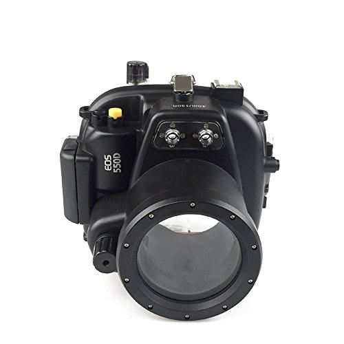 [해외]Sea Frogs 40m | 130ft 수중 카메라 케이스 수중 하우징 캐논 Canon 방수 케이스 방수 하우징 보호 케이스 방수 케이스 수중 촬영용 국제 방수 등급 IPX8/Sea Frogs 40 m | 130 f Underwater Camera Case Under Water Housing Canon Canon Waterproo...