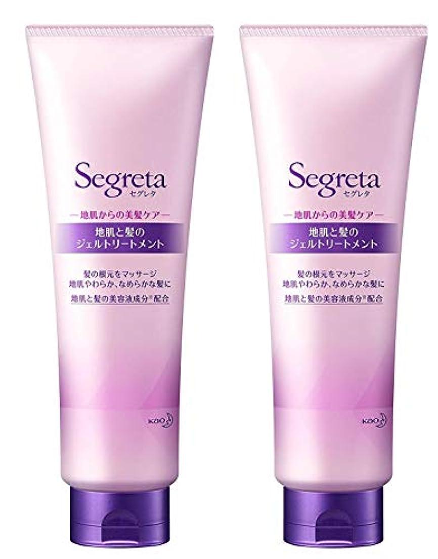 過敏な控える回転【2個セット】セグレタ 地肌と髪の ジェルトリートメント 250ml×2個