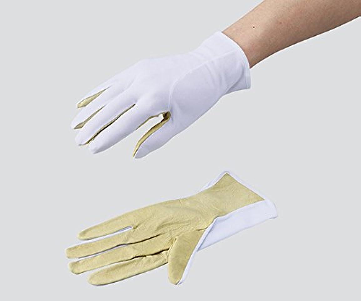 基準メタリックウイルス3-6076-02革手ライナー手袋ポップハンド(R)MP-805