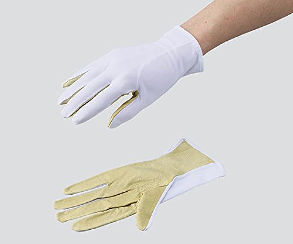 気候黒くする穿孔する3-6076-02革手ライナー手袋ポップハンド(R)MP-805