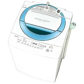 東芝 8.0kg 全自動洗濯機 シャイニーブルーTOSHIBA マジックドラム AW-8D3M-L