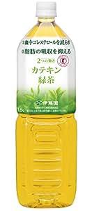 [トクホ] 伊藤園 2つの働き カテキン緑茶 1.5L×8本