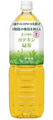 2つの働き カテキン緑茶 1.5L 1セット(2本)