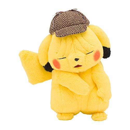 ポケモンセンターオリジナル しわしわ顔のぬいぐるみ 映画「名探偵ピカチュウ」ピカチュウ