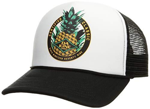 [ダカイン] [ユニセックス] メッシュキャップ (サイズ調整可能)[ AJ231-908 / DKAPPLE II TRCK ] おしゃれ 帽子 BLK_ブラック US F (FREE サイズ)