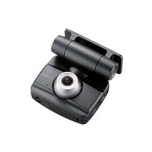 Logitec ドライブレコーダー 常時録画+衝撃検知+手動検知 液晶ディスプレイ搭載 SDHCカード対応 LVR-SD100BK