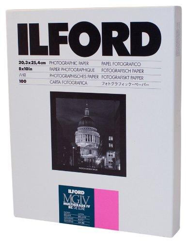ILFORD 白黒印画紙 MGIV RC 1M 8X10 六切 100枚 1770340